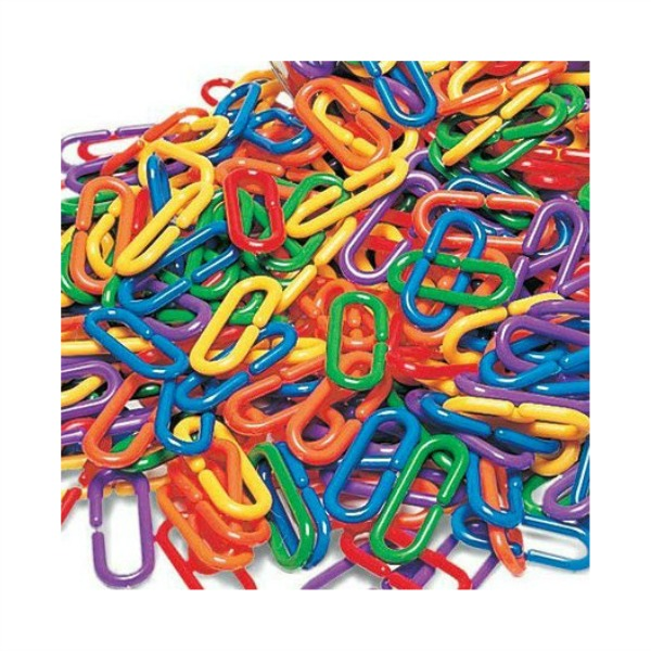 Fun Plastic Links For Bird Toys 20 pc
