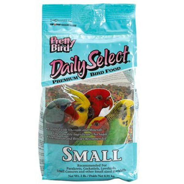 Pretty Bird Daily Select Small Parrot Bird Food Pellets 5 lb (2.27 kg)