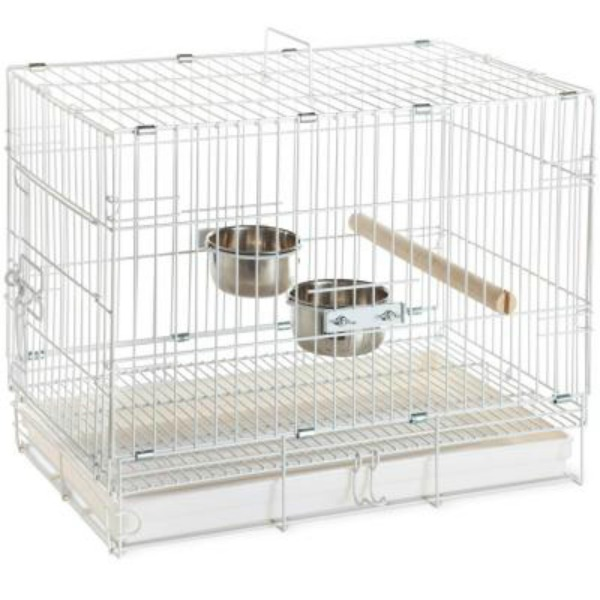 Fold Away Travel Cage Carrier for Smaller Parrots 1305 20x12