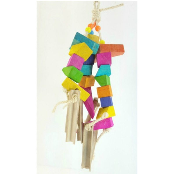 Bodacious Bird Toy for Medium to Large Parrots - Banquet