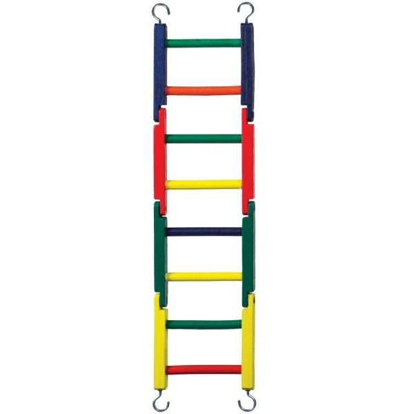 Ladder Flat Jointed Wooden Perch By Prevue Pet 8 Rung