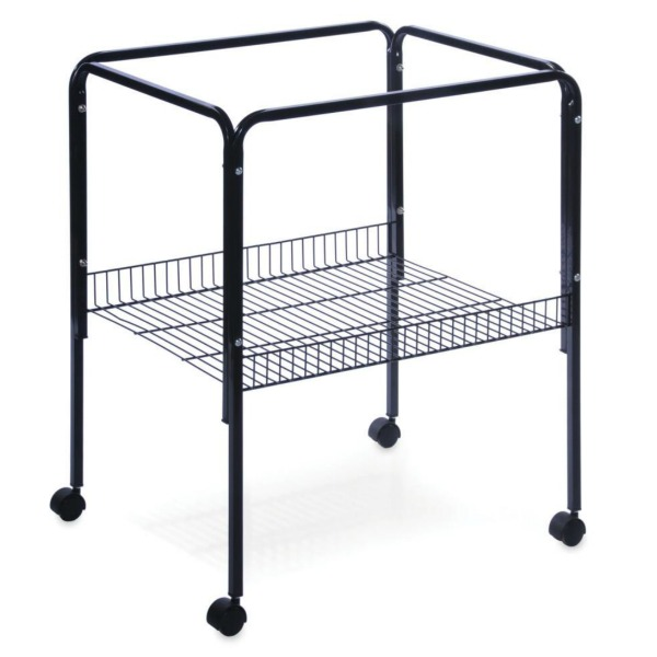 Bird Cage Stand W Shelf by Prevue 2521 26X22 Black