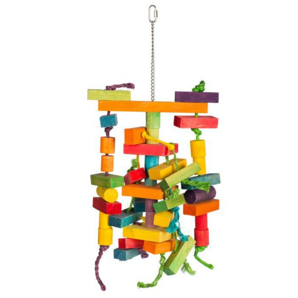 Bodacious Bird Toy for Large Parrots - Building Maze