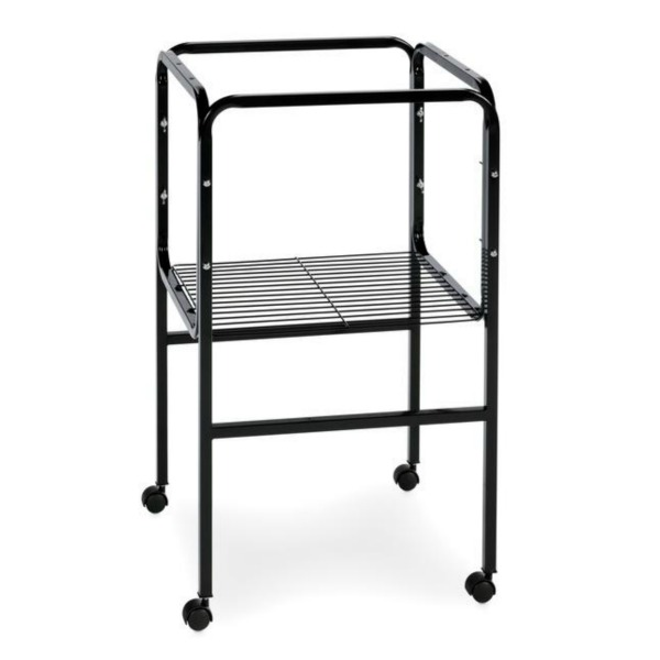 Bird Cage Stand W Shelf by Prevue 445 16X16 Black