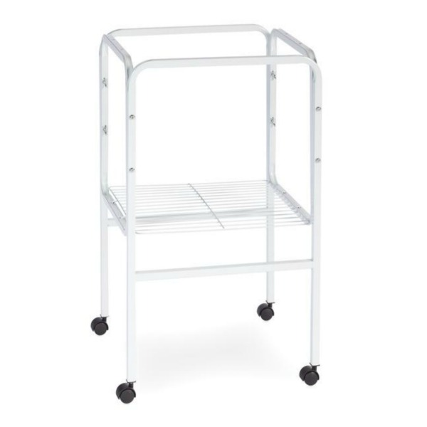 Bird Cage Stand W Shelf by Prevue 445 16x16 White