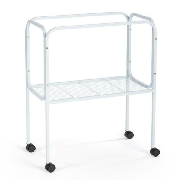 Bird Cage Stand W Shelf by Prevue 447 26X14 White