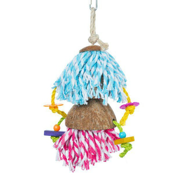 Calypso Creations Bird Toy for Medium Parrots - Car Wash
