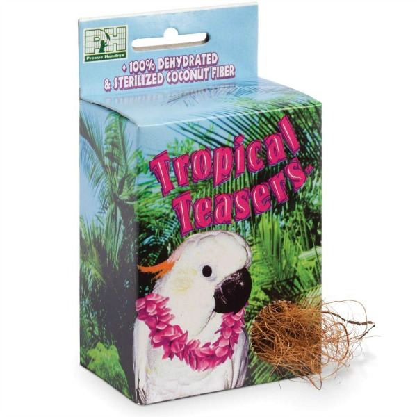 Coconut Fiber Nest Builder by Prevue for Finches Canaries