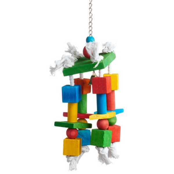 Bodacious Bird Toy for Medium to Large Parrots - Crazy Legs