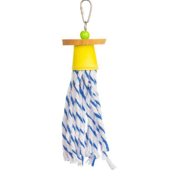 Calypso Creations Bird Toy for Small Parrots - Dixie Dance