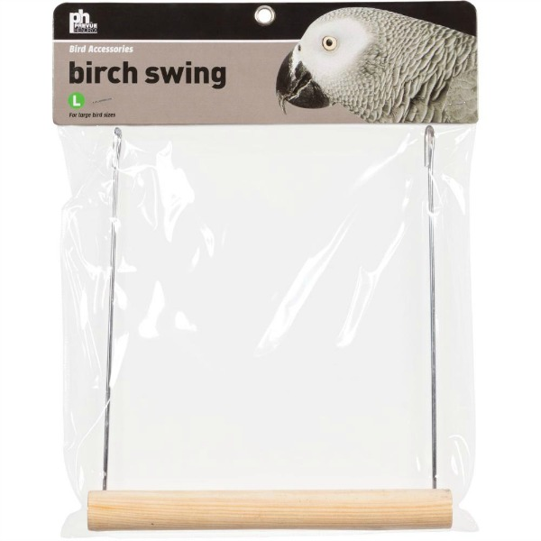 Pine Wood Bird Swing by Prevue Pet Large