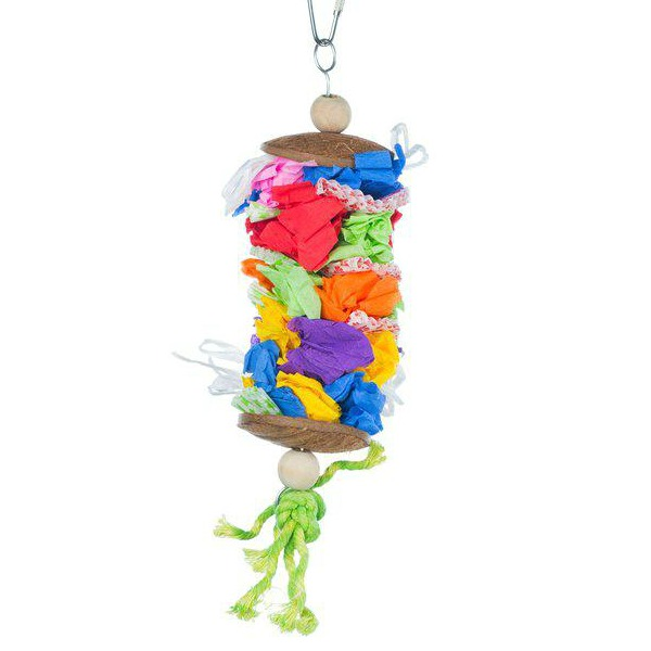 Prevue Calypso Creations Bird Toy for Medium Parrots - Laundry Day