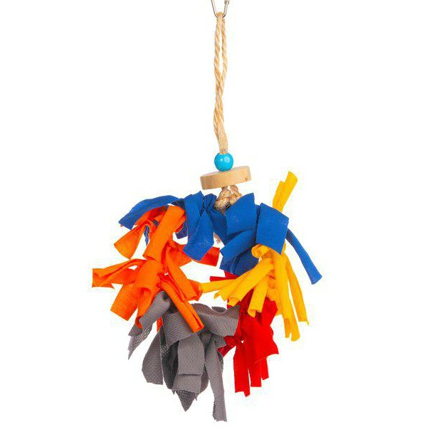 Prevue Calypso Creations Bird Toy for Small Parrots - Menagerie