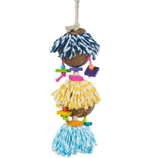 Prevue Calypso Creations Bird Toy for Medium Parrots - Ritual Dance