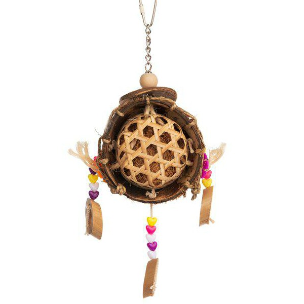 Prevue Tropical Teaser Toy for Small Parrots - Thread Catcher