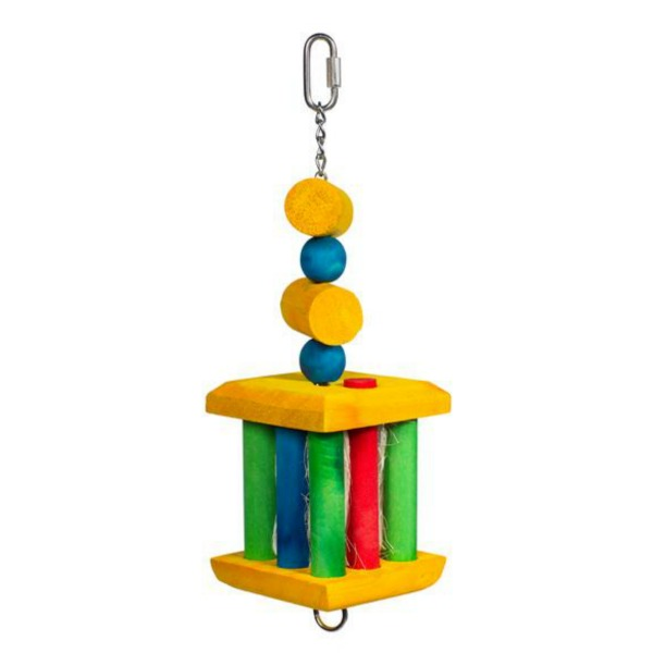 Bodacious Bird Toy for Medium to Large Parrots - Treat Me