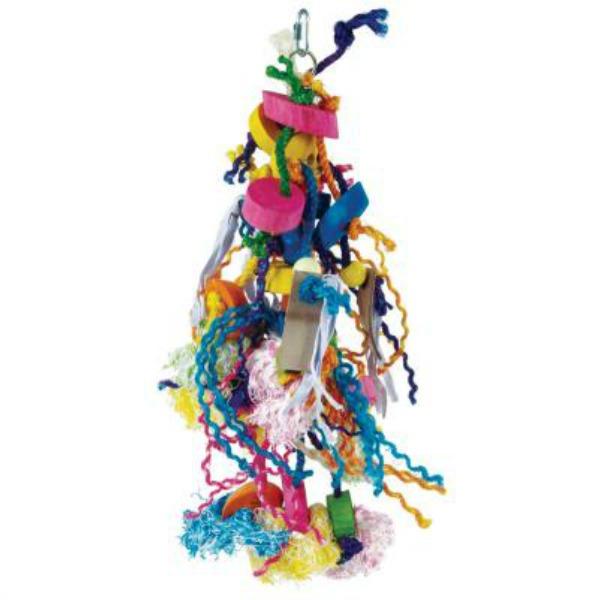 Bodacious Bird Toy for Medium to Large Parrots - Voracious