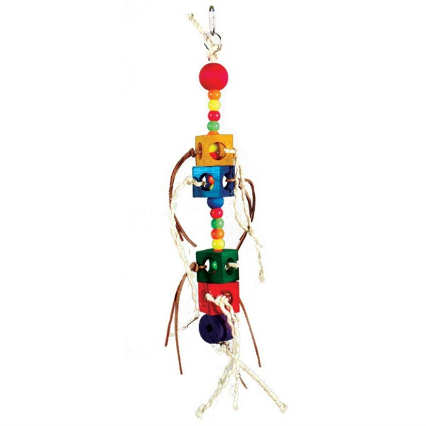 Bodacious Bird Toy for Medium Parrots - Wacky Slider