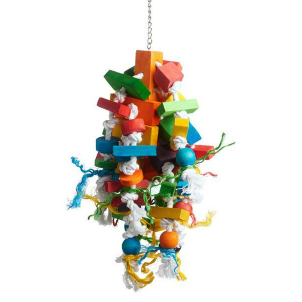 Bodacious Bird Toy for Medium to Large Parrots - Wizard