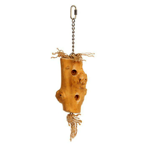 Naturals Bird Toy for Medium Large Parrots - Woodpecker