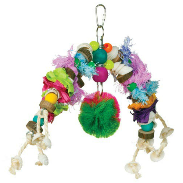 Tropical Teasers Bird Toy by Prevue - Mobile