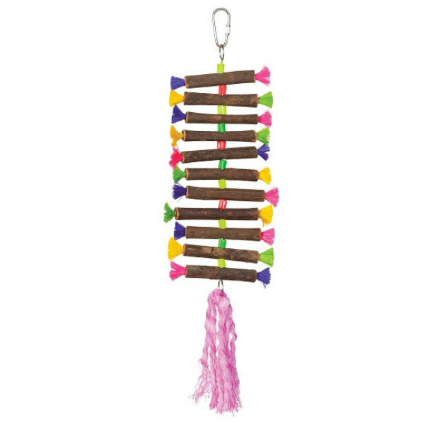 Tropical Teasers Bird Toy by Prevue - Twisting Sticks