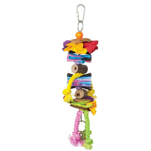 Tropical Teasers Bird Toy by Prevue - Party Time