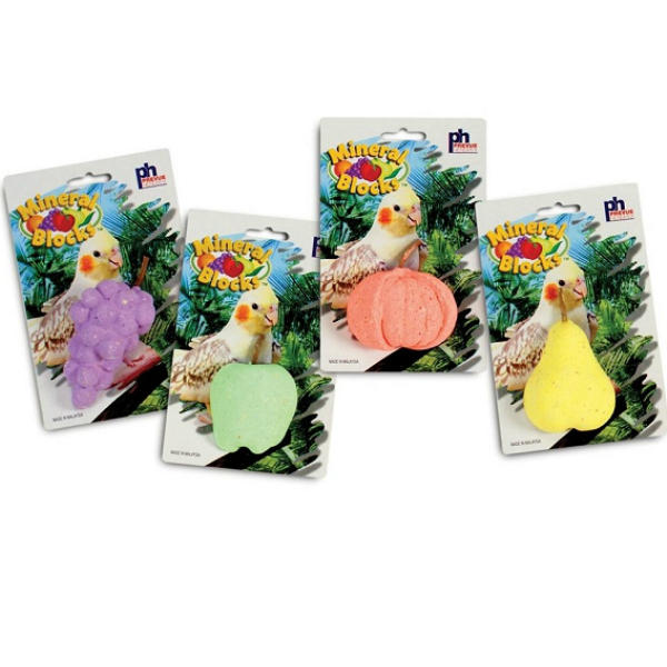Mineral Block Fruit Shape & Scented by Prevue 3.15 oz (90 g)