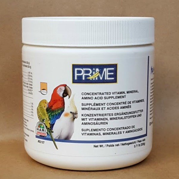 Hagen Prime Vitamin Water Soluble For Birds .71 lb (320 g)