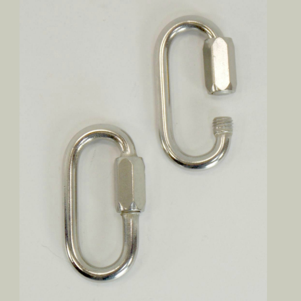 Quick Links for Hanging Bird Toys Stainless Steel 5 mm 2 pc