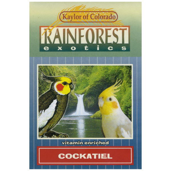 Kaylor's Rainforest Cockatiel Seed Mix 2 lb (907 g)