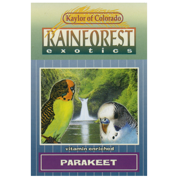 Kaylor's Rainforest Parakeet Seed Mix 2 lb (907 g)