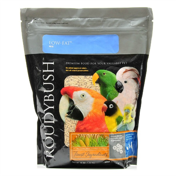 Roudybush Low Fat Maintenance Bird Pellets Mini 44 oz (1.25 kg)