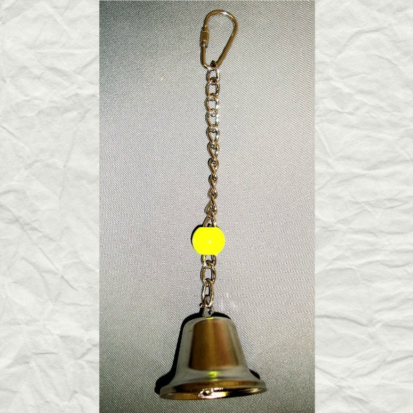 Tiny Tinkler Bell Toy for Small Birds and Parrots Large