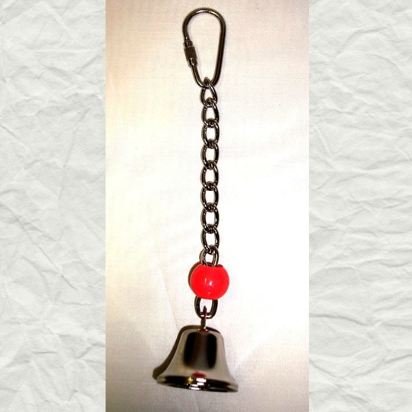 Tiny Tinkler Bell Toy for Small Birds and Parrots Medium