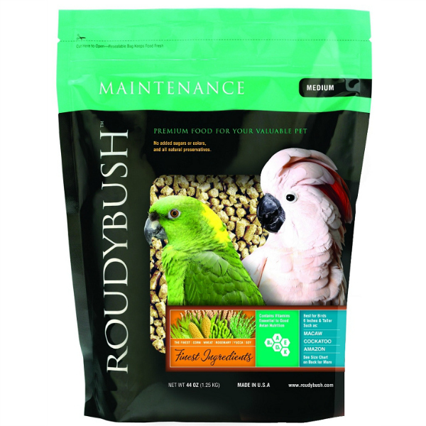 Roudybush Daily Maintenance Bird Pellets Medium 44 oz (1.25 kg)