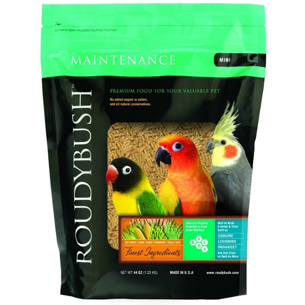 Roudybush Daily Maintenance Bird Pellets Mini 44 oz (1.25 kg)