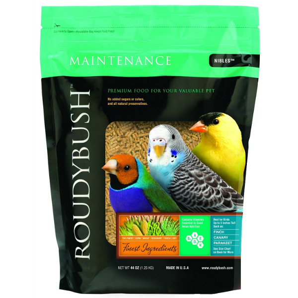 Roudybush Daily Maintenance Bird Pellets Nibles 44 Oz (1.25 Kg)