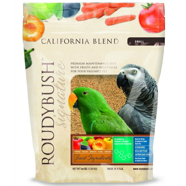 Roudybush California Blend Bird Food Pellet Small 44 oz (1.25 kg)