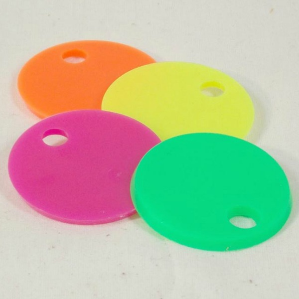 Marbella Round Chip Pieces for Bird Toys 4 pc