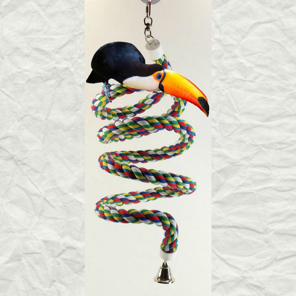 """Bungee Boing Swing And Parrot Perch Extra Large 97\"""""""
