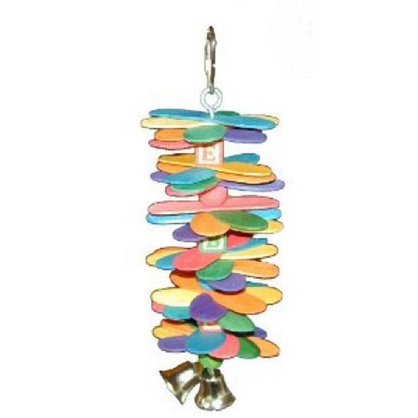 ABC Spoon Stack Toy by Super Bird for Small Birds