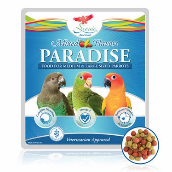 Scenic Paradise Mix Parrot Food Pellets 25 Lb (11 Kg)