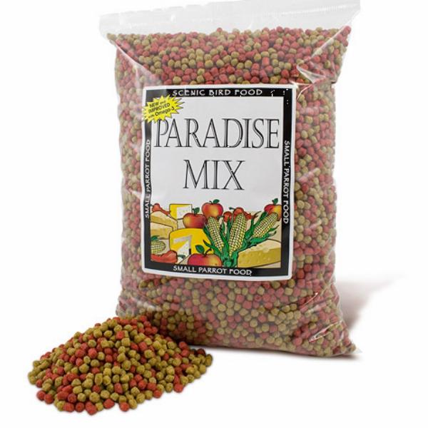 Scenic Paradise Mix Parrot Food Pellets 2 Lb (.9 Kg)