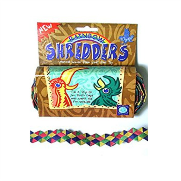 "Shredders Palm Leaf Braid - Rainbow Zigzag 1"" x 30'"