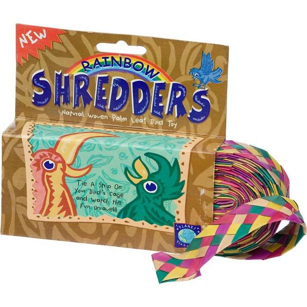 """Shredders Palm Leaf Braid - Rainbow Straight 1"""" x 30'"""