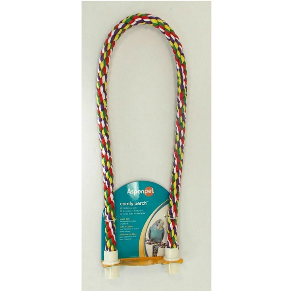 Comfy Rope Perch Small 32 Inch (81.3 cm) Long By Booda