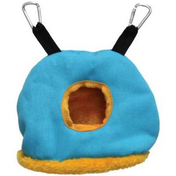 Warm Snuggle Sack for Birds by Prevue Small Blue