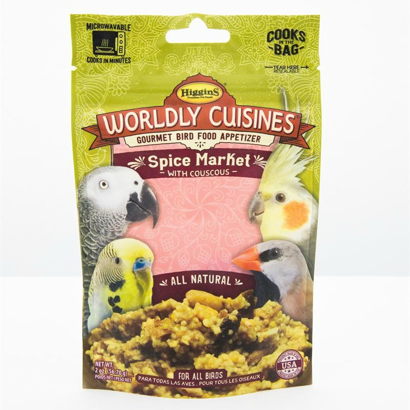 Higgins Worldly Cuisines Spice Market Microwave In Bag 2 oz (57 G)