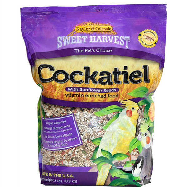 Kaylor's Sweet Harvest Cockatiel Seed Mix 2 lb (907 g)